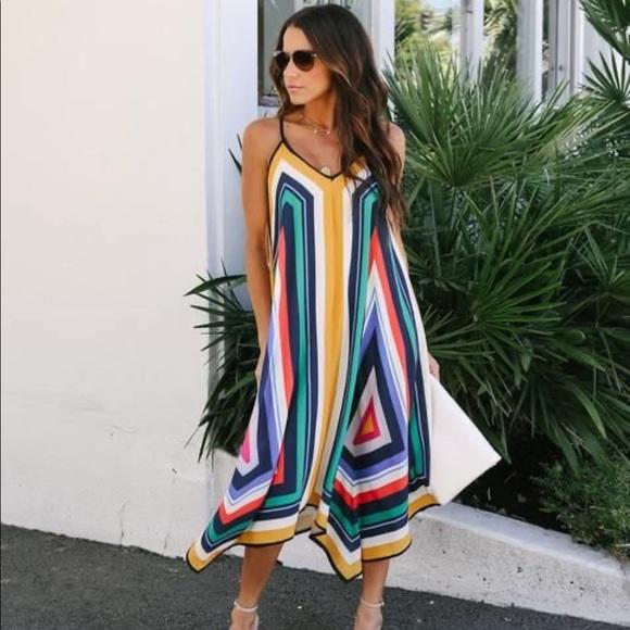 VICI La Vida Loca Handkerchief Dress